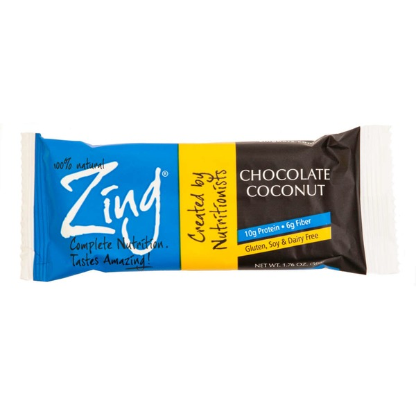 Zing Chocolate Coconut Nutrition Bar