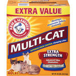 ARM & HAMMER Multi-Cat Clumping Litter Extra Strength Fresh Scent