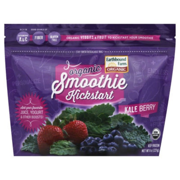 Earthbound Farm Organic Kale Berry Smoothie Kickstart