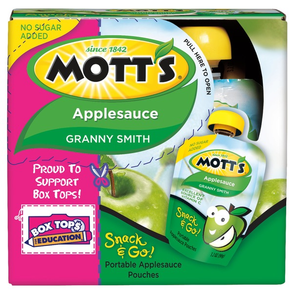 Mott's Snack & Go! Granny Smith Applesauce