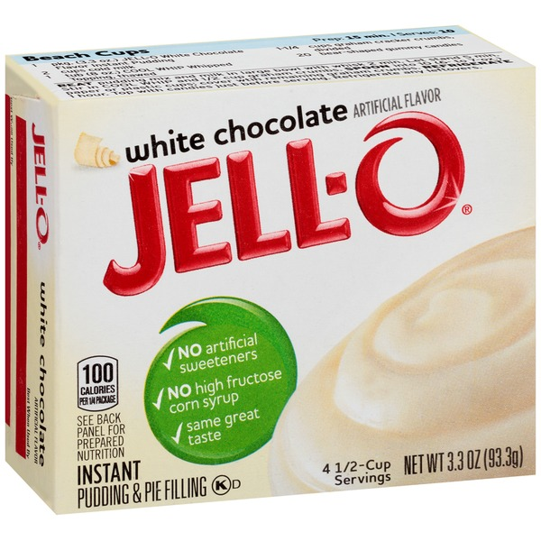 Jell-O Instant White Chocolate Pudding & Pie Filling
