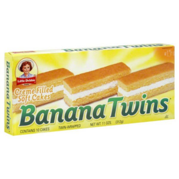 Little Debbie Banana Twins Cakes