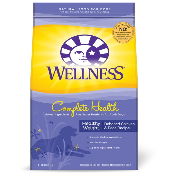 Wellness Complete Health Healthy Weight Deboned Chicken & Peas Adult Dog Food