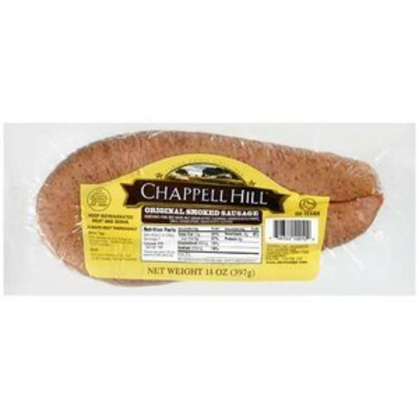 Chappell Hill Original Smoked Sausage