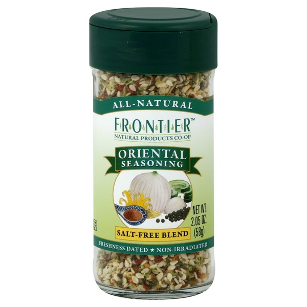 Frontier Oriental Seasoning, Salt-Free Blend
