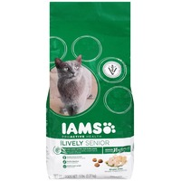 Iams Lively Senior with Chicken Cat Food