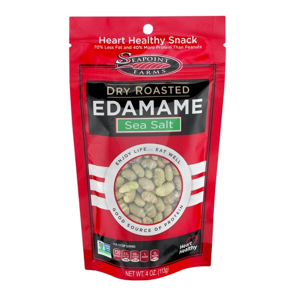 Seapoint Farms Dry Roasted Sea Salt Edamame
