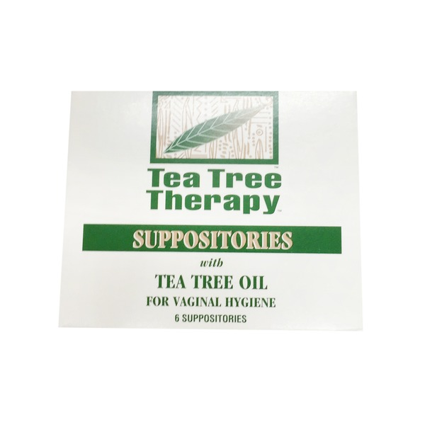 Tea Tree Therapy Suppositories With Tea Tree Oil For Vaginal Hygiene
