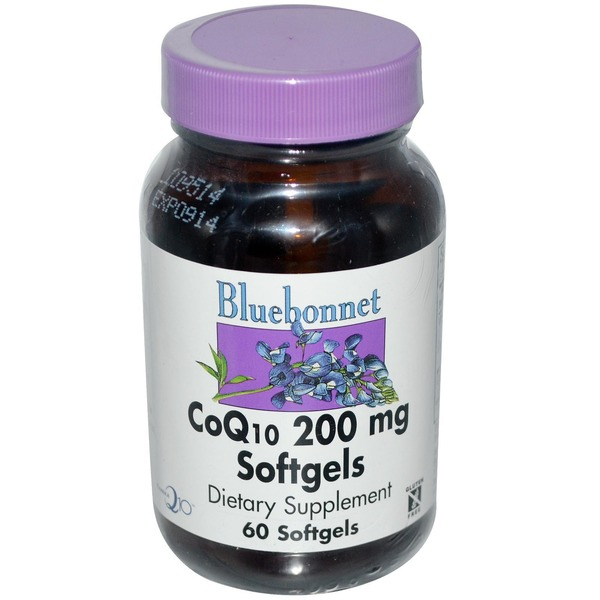 Bluebonnet Nutrition Coq10 200 Mg 30 Softgels
