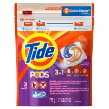 Tide PODS Spring Meadow Scent HE Turbo Laundry Detergent Pacs, 31 count