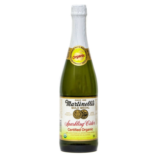Martinelli's Gold Medal® Sparkling Apple-Grape Organic 100% Juice