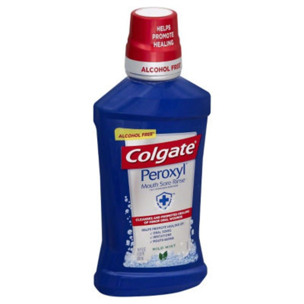 Colgate Peroxyl Mouth Sore Rinse, Original Mint