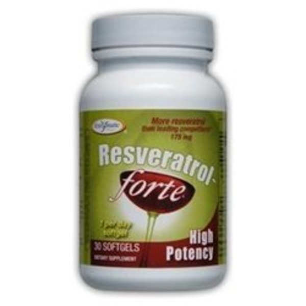 Enzymatic Resveratrol Forte 175 mg Softgels