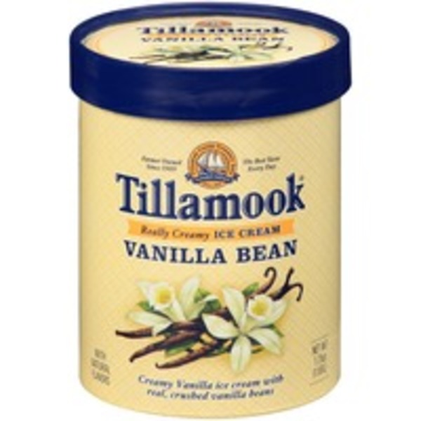 Tillamook Vanilla Bean Ice Cream