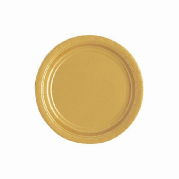 Unique Gold 7 Inch Plate
