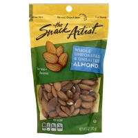 The Snack Artist Nuts Almonds Natural Whole