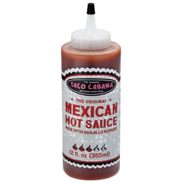 Taco Cabana Guajillo Original Mexican Hot Sauce
