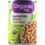 Great Value Organic Garbanzo Beans Chick Peas, 15 oz