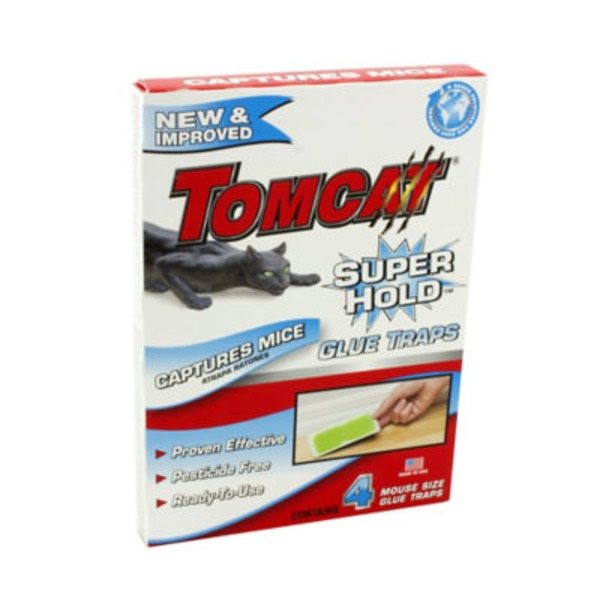 Tomcat Super Hold Mouse Glue Traps