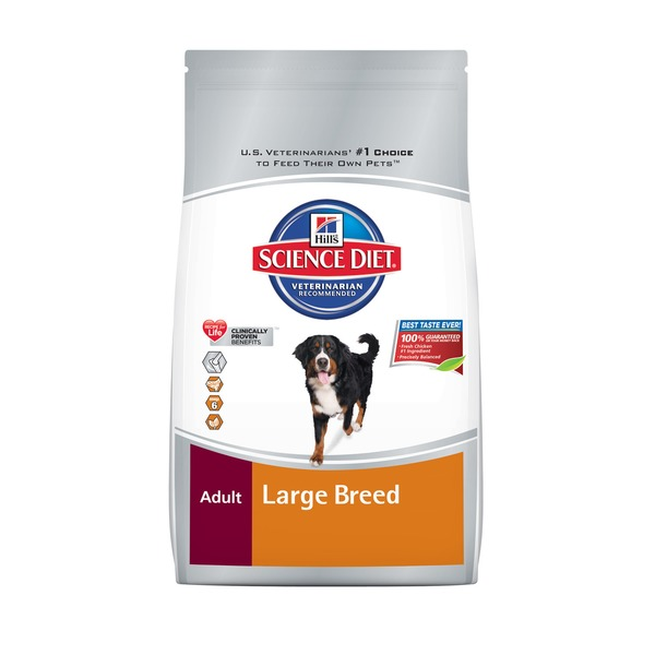 Hill's Science Diet Dog Food, Dry, Adult (1-5 Years)