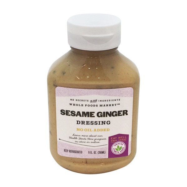 Health Starts Here Sesame Ginger Oil Free Dressing