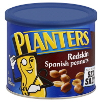 Planters Peanuts Red Skin Spanish
