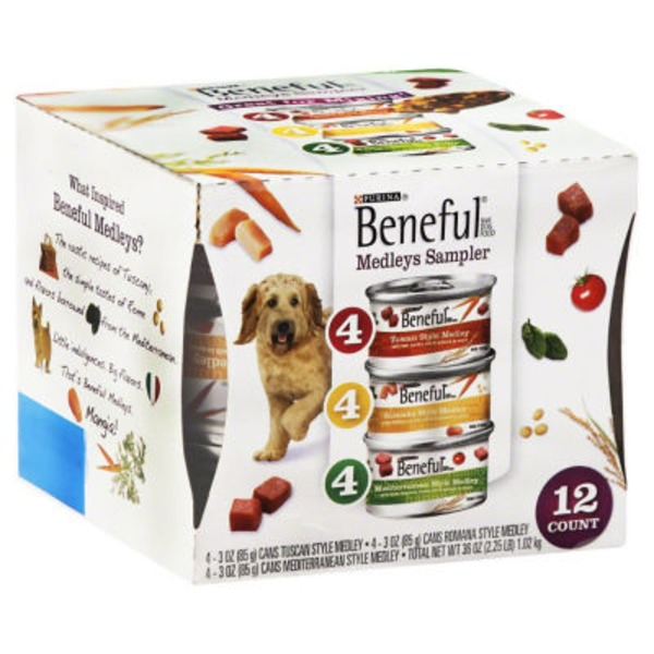 Beneful Medleys Variety Pack Dog Food