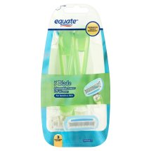 Equate 5-Blade Disposable Razors for Women, 3 Ct