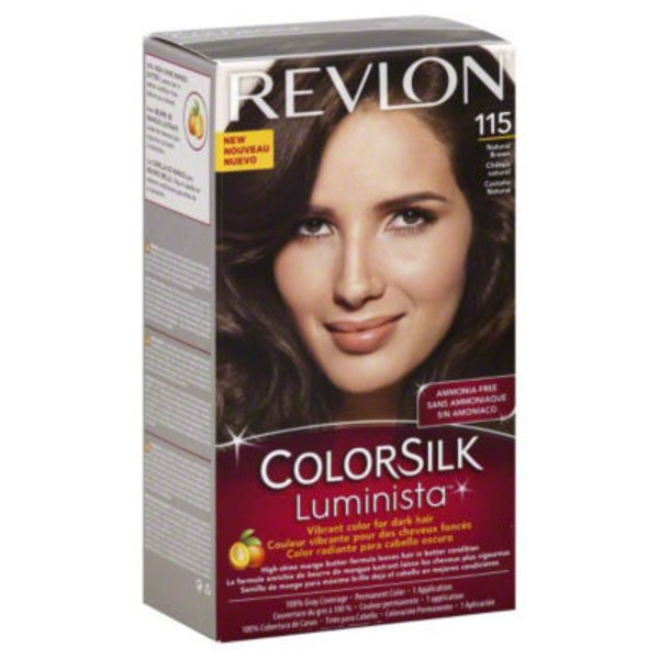 Revlon Colorsilk Luminsta Natural Brown 115 Permanent Hair Color