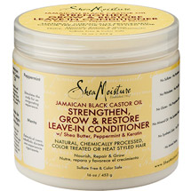 SheaMoisture Jamaican Black Castor Oil Strengthen Grow & Restore Leave-In Conditioner