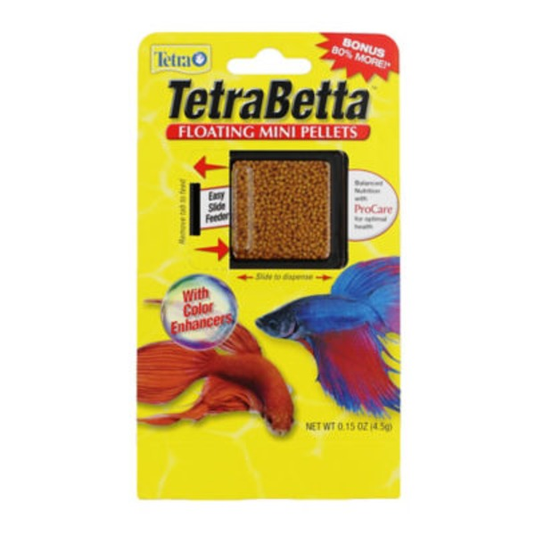 Tetra TetraBetta Floating Mini Pellets Fish Food