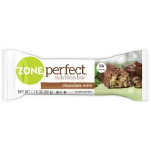 ZonePerfect Nutrition Bar, 14 Grams of Protein, Chocolate Mint, 1.76 Oz, 5 Ct