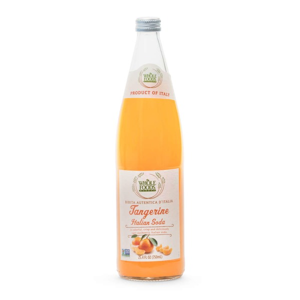Whole Foods Market Tangerine Italian Soda