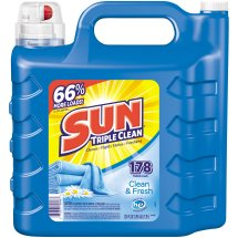 Sun Triple Clean Clean & Fresh Laundry Detergent, 250 Oz