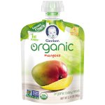 Gerber Organic 1st Foods Mangoes Baby Food 3.17 oz. Pouch