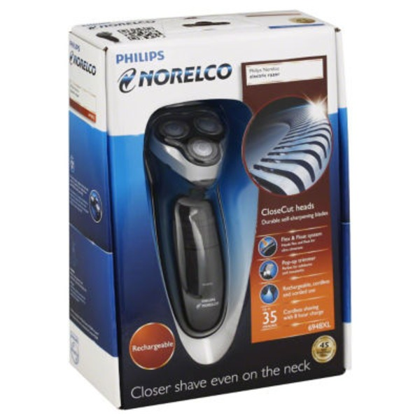 Philips Norelco Electric Rechargeable Shaver 2100