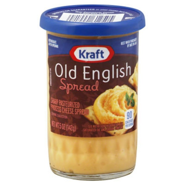Kraft Cheese Spreads Old English Cheese Spread