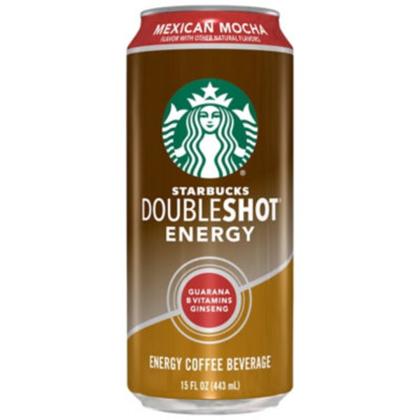 Starbucks Doubleshot Energy Mexican Mocha Energy Coffee Beverage