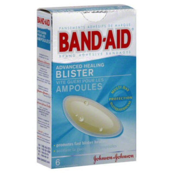 Band Aid® Brand Adhesive Bandages Advanced Healing Blister Super Premium