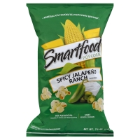 Smartfood Popcorn Spicy Jalapeno Ranch Flavored