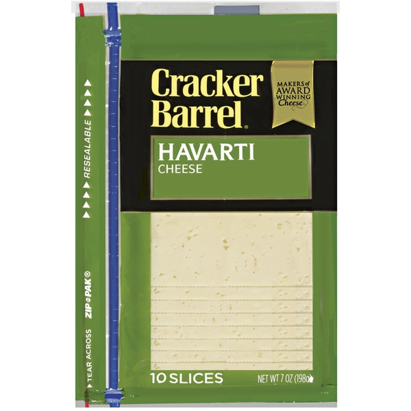 Cracker Barrel Havarti Slices Cheese