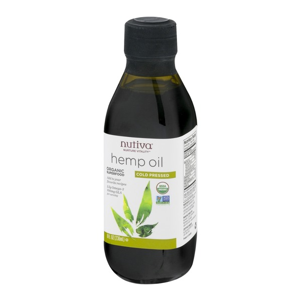 Nutiva Hemp Oil Cold Pressed