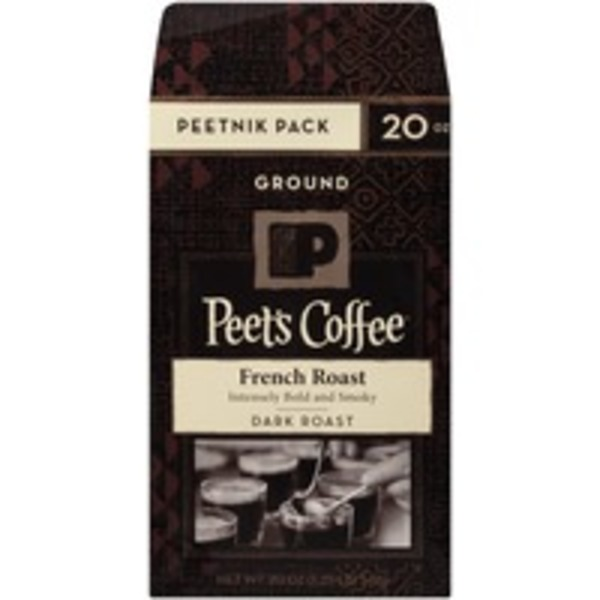 Peet's Coffee & Tea French Roast Dark Roast Ground Coffee