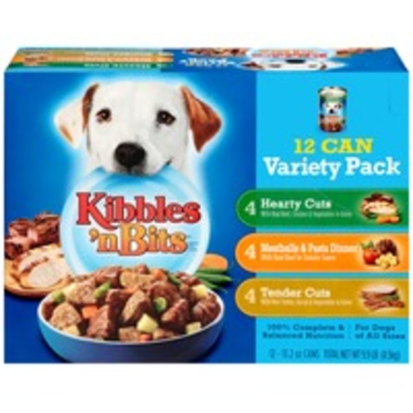 Kibbles 'n Bits Chef's Choice Bistro/Homestyle Variety Pack Dog Food