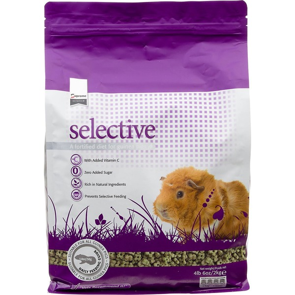 Supreme Pet Food Supreme Selective Fortified Diet For Guinea Pigs 4 Lbs. 6 Oz.