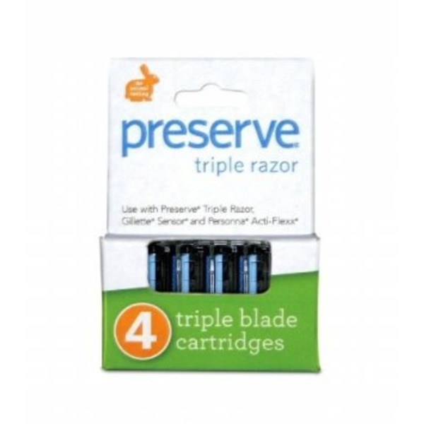 Preserve Razor Replacement Triple Blade