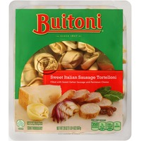 Buitoni Freshly Made. Filled with Sweet Italian Sausage and Parmesan Cheese Sweet Italian Sausage Tortelloni
