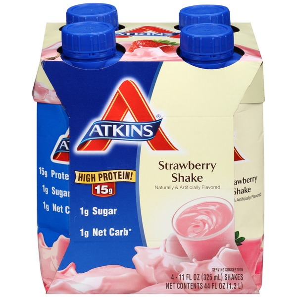 Atkins Advantage Strawberry Shakes