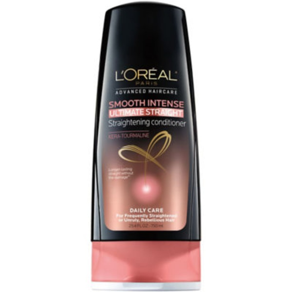 Advanced Haircare Frequently Straighten, Unruly, Rebellious Hair Smooth Intense Ultimate Straight Conditioner Family Size