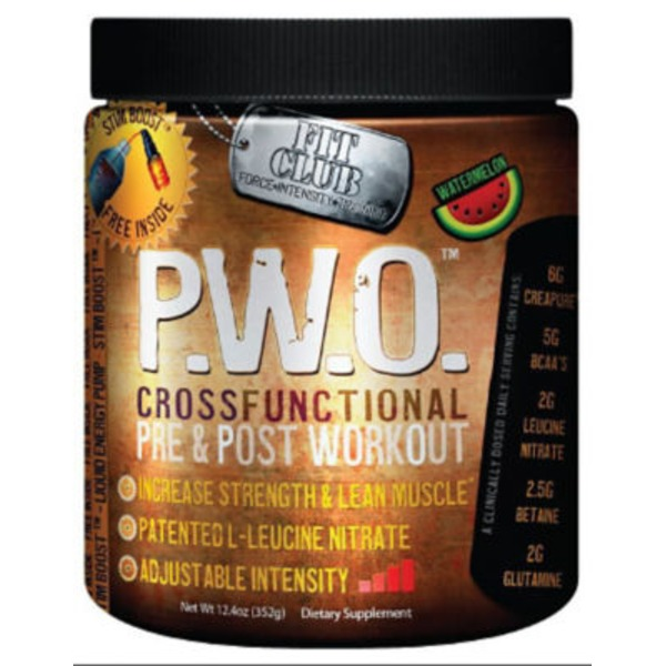 Fit Club Pwo Watermelon Powder Drink